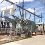 Installed 315MVA autotransformer manufactured by Power Transformers