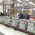 Tanking of 64kVA 22kV low-loss transformers